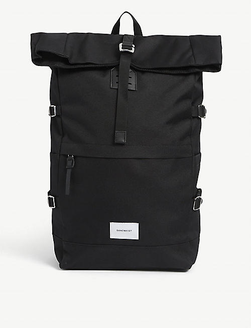 SANDQVIST: Bernt canvas backpack