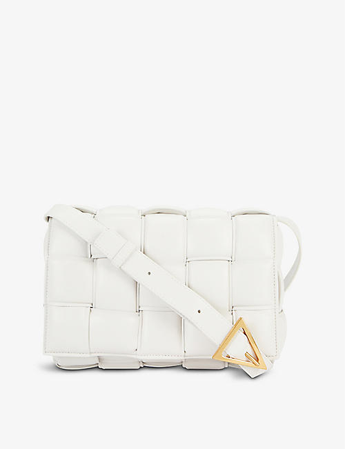 BOTTEGA VENETA: Padded Cassette leather cross-body bag
