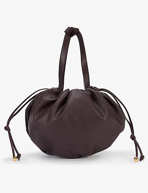 BOTTEGA VENETA: The Medium Bulb leather shoulder bag