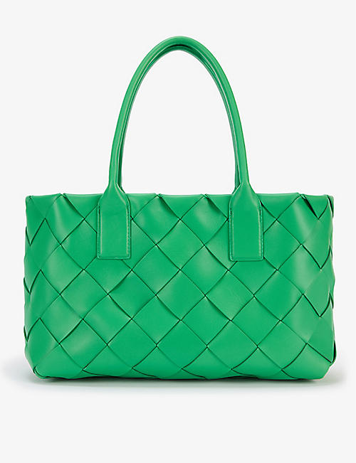 BOTTEGA VENETA: Maxi Cabat Intrecciato leather tote bag