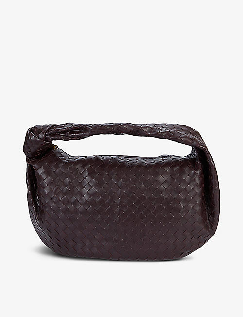 BOTTEGA VENETA: The Jodie intrecciato leather shoulder bag