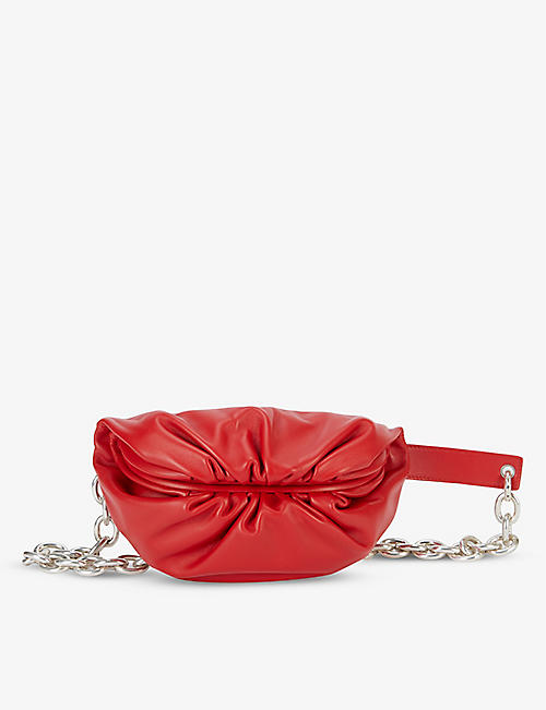 BOTTEGA VENETA: The Mini Pouch leather bag