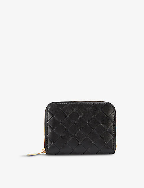 BOTTEGA VENETA: Intrecciato woven leather purse