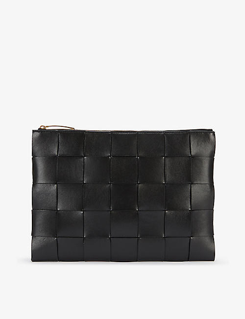 BOTTEGA VENETA: Padded Intrecciato leather pouch