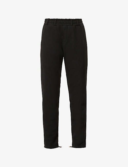 KROST: Krost x Barneys New York cotton-jersey jogging bottoms