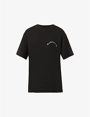 KROST: Krost x Barneys New York Cityscape logo-print cotton-jersey T-shirt