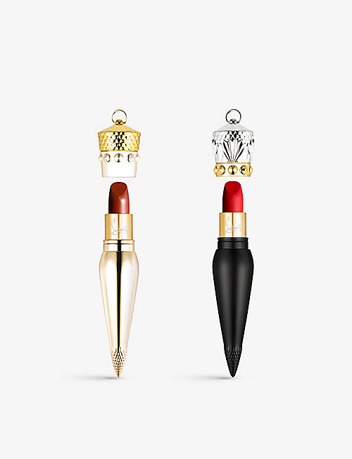 CHRISTIAN LOUBOUTIN: Velvet Matte and Silky Satin lipstick set