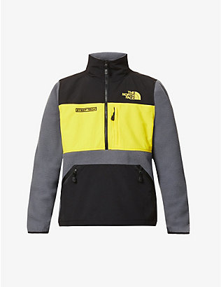 THE NORTH FACE: Steep Tech logo-embroidered fleece jacket