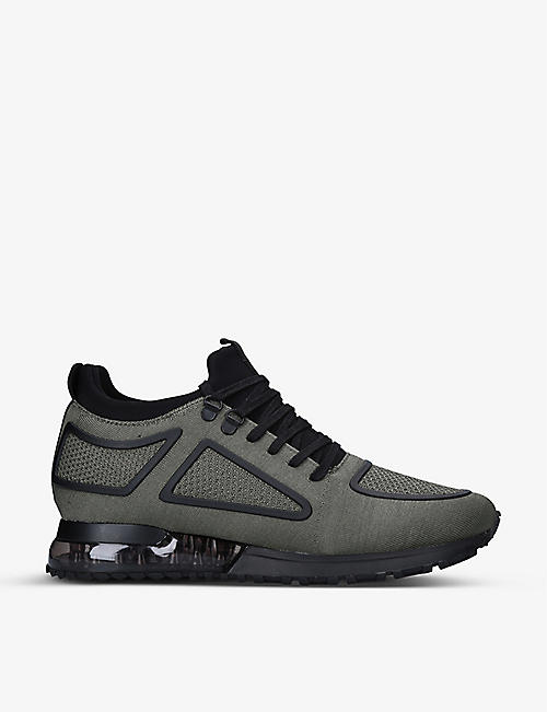 MALLET: Tech Diver stretch-mesh trainers