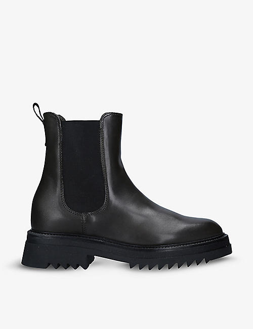 CARVELA: Strong leather Chelsea boots