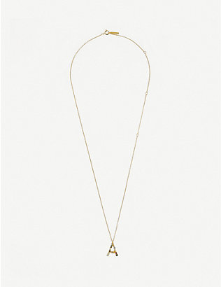 PD PAOLA: A 18ct gold-plated sterling silver necklace