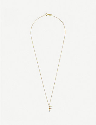 PD PAOLA: F 18ct gold-plated sterling silver necklace