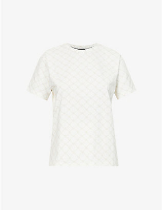 ODOLLS COLLECTION: Monogram-print stretch-cotton T-shirt