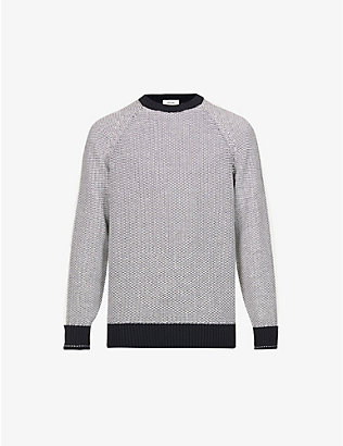 Z ZEGNA: Crewneck cotton-knit jumper