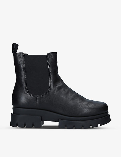 CARVELA COMFORT: Run leather Chelsea boots
