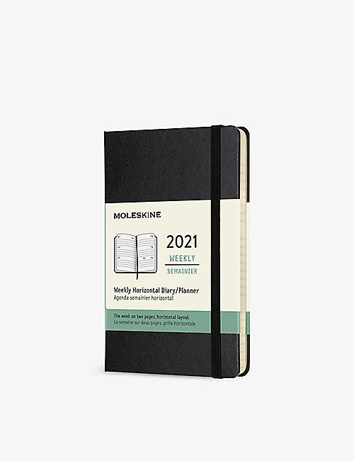MOLESKINE: 12-month pocket hardcover diary 2021