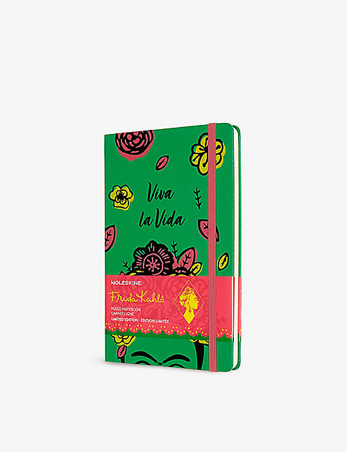 MOLESKINE: Limited Edition Frida Kahlo hardcover notebook 21cm x 13cm