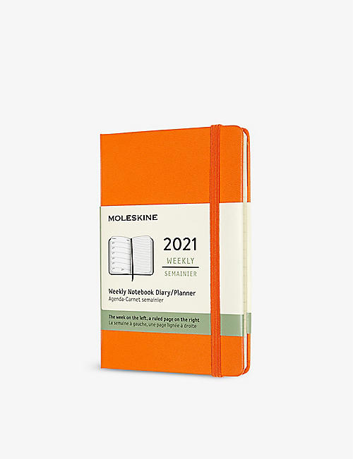 MOLESKINE: 12-month pocket hard-cover diary 2021