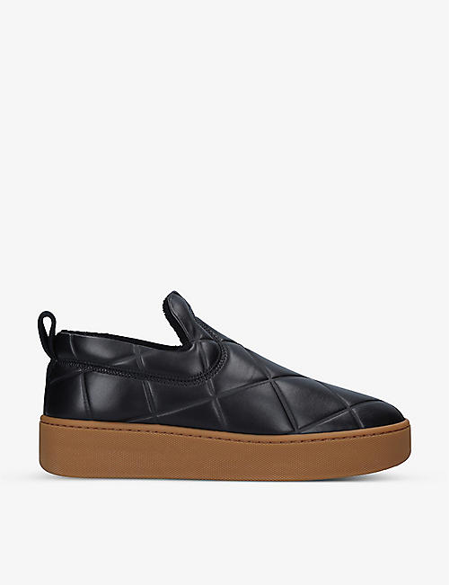 BOTTEGA VENETA: BV Quilt quilted leather trainers