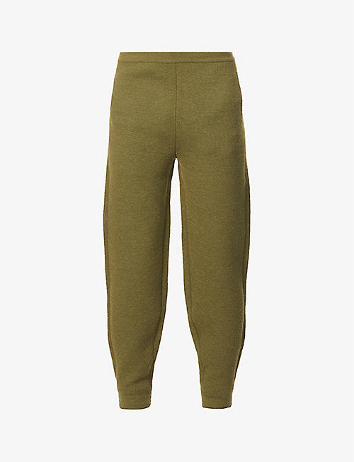 THE INOUE BROTHERS: Relaxed-fit tapered knitted jogging bottoms
