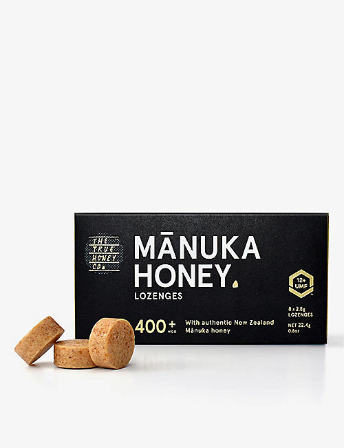 THE TRUE HONEY COMPANY: Manuka Honey Lozenges 400+ 22.4g