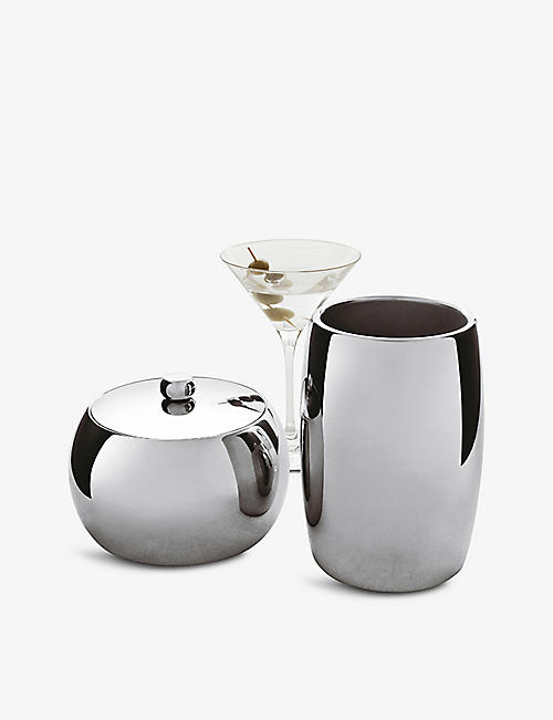 SAMBONET: Sphera stainless steel insulated wine cooler