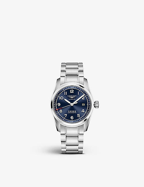 LONGINES: L3.810.4.93.6 Spirit stainless steel watch
