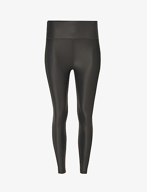 SWEATY BETTY: High Shine 7/8 high-rise stretch-jersey leggings