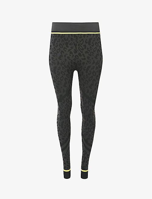 SWEATY BETTY: Betty Ski Base Layer stretch-jersey ski leggings