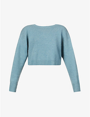 REMAIN BIRGER CHRISTENSEN: Valcyrie open-back wool jumper