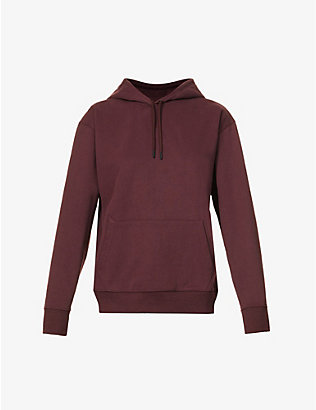 RILEY STUDIO: Classic organic cotton and recycled polyester-blend hoody
