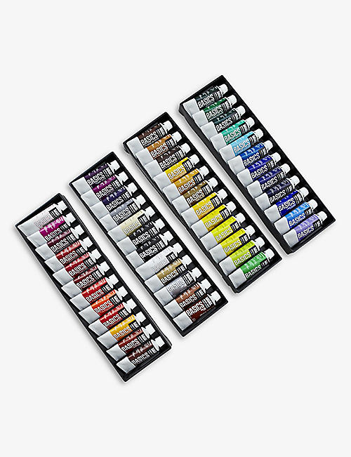 LIQUITEX: Liquitex Basics acrylic assorted paint set of 48