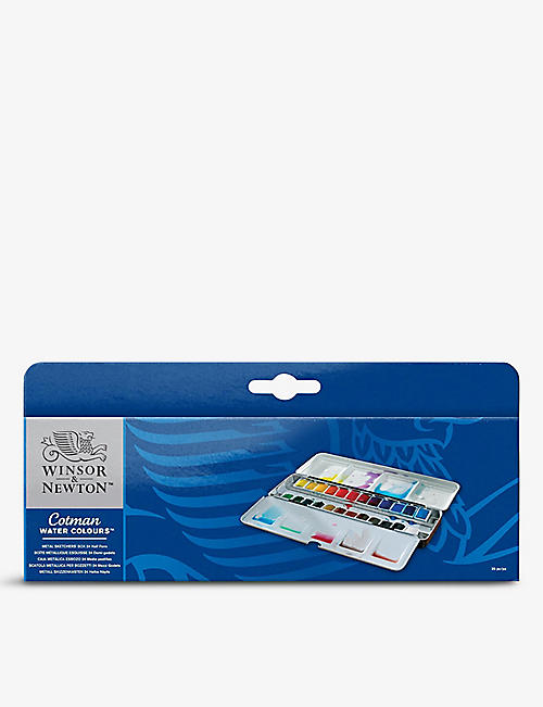 WINSOR & NEWTON: Cotman Sketchers watercolour paints set of 24