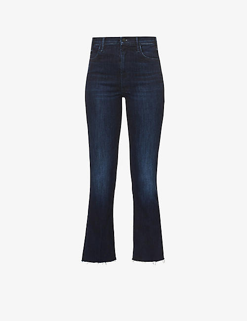 MOTHER: The Hustler high-rise stretch-denim jeans