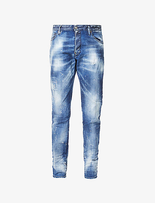 DSQUARED2: Cool Guy slim-fit straight-leg jeans