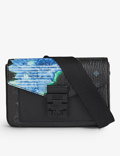 MCM: Millie floral faux-leather cross-body bag