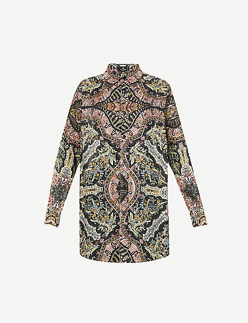 ETRO: Camicia printed cotton shirt