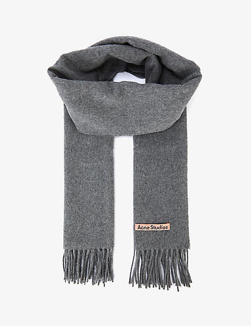ACNE STUDIOS: Canada narrow wool scarf