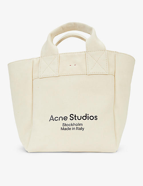 ACNE STUDIOS: Aleah canvas tote bag