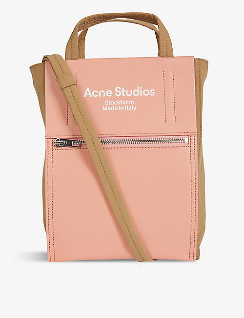 ACNE STUDIOS: Baker small nylon tote bag