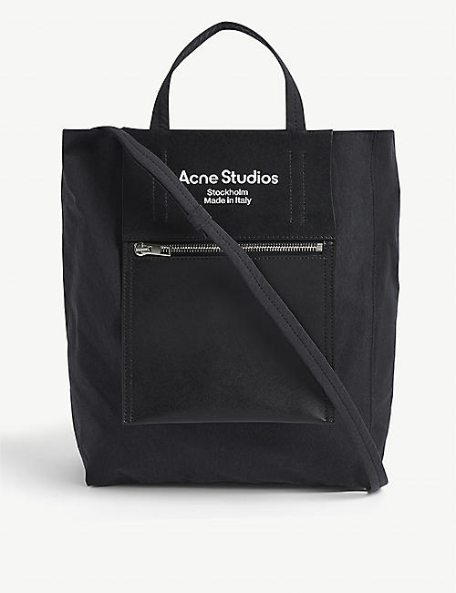 ACNE STUDIOS: Baker medium nylon tote bag