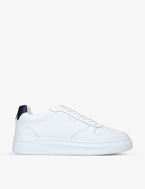 MALLET: Hoxton leather trainers