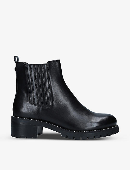 CARVELA: Treaty leather Chelsea boots