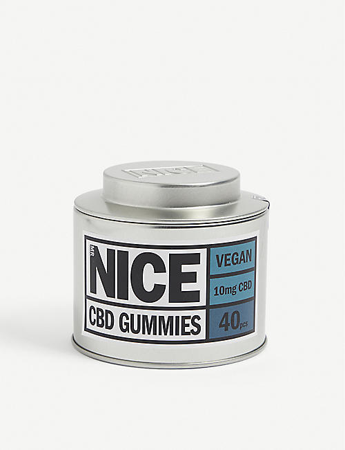 MR NICE: Vegan CBD gummies pack of 40