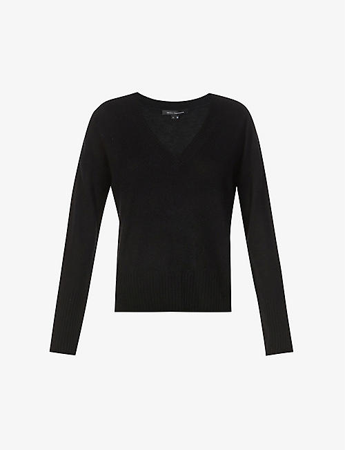 360 CASHMERE: Ana snake-embroidered cashmere jumper