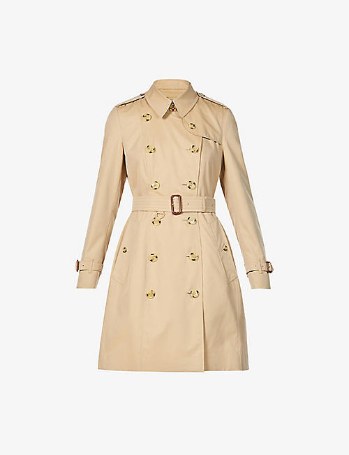 BURBERRY: The Chelsea Heritage double-breasted cotton trench coat