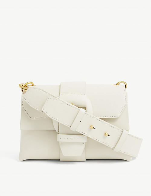 OROTON: Frida mini leather shoulder bag