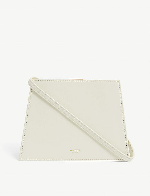 OROTON: Hazel leather shoulder bag