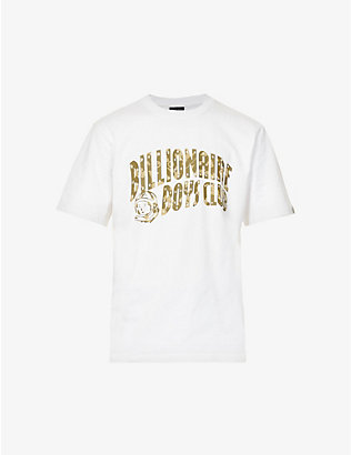 BILLIONAIRE BOYS CLUB: Confetti logo-print cotton-jersey T-shirt