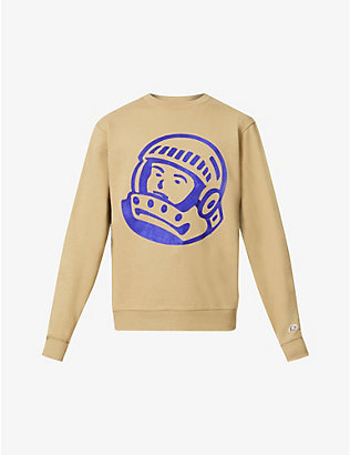 BILLIONAIRE BOYS CLUB: Astro logo-print cotton-jersey sweatshirt